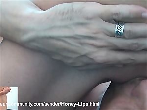 uber-sexy stunner gets pounded in her wild crevices