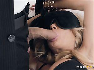 Kayla Kayden getting dual intrusion