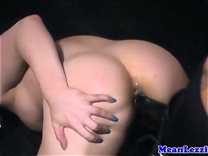 curvy Lucia love luvs Angel Long's pinkish fuckbox