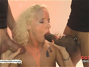 adorable Lucie loves Monster knobs - German Goo nymphs