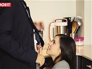 LETSDOEIT - super-hot black-haired humped stiff By Spanish duo