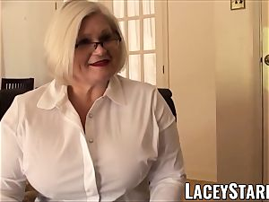 LACEYSTARR - submissive GILF culo inserted by Pascal milky