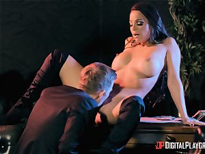Abigail Mac takes on the monster pipe of Danny D