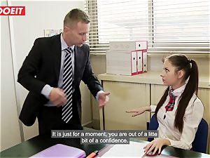 LETSDOEIT - Rebecca Tricks Academy Principal Into fucky-fucky