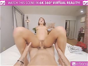VRBangers wondrous Adriana Chechik romped By A ginormous rod And splatter rigid