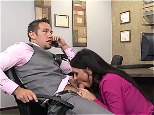 classical cougar pounding at office