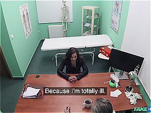 Hidden webcam fuck-fest in the doctors office