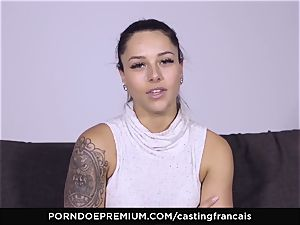 audition FRANCAIS - gorgeous fledgling very first pornography tear up