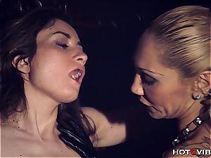 female dominance strapped up lesbian dumping
