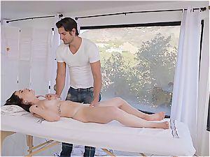 Jennifer Jacobs gets revved on by the killer masseur