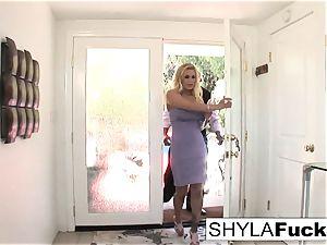 Shyla Takes A immense spunk-pump