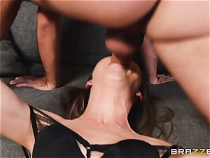 handsome Riley Reid rectal bang with strung up mischievous Keiran