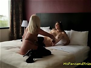 The hotel room Strippers fuckfest with Ms Paris Rose