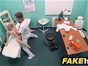 fake polyclinic nasty physician gets to plumb a new snatch
