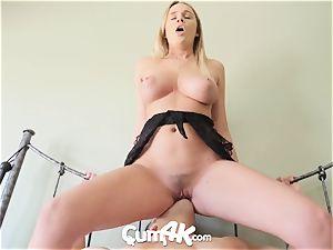 CUM4K cum dripping mistress gets multiple creampies