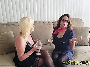 auntie Paris tempts Her step-sister
