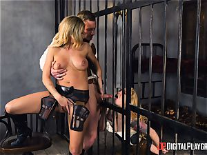 Western cooch pounding with Jessa Rhodes and Misha Cross