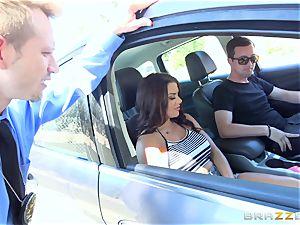 Keisha Grey getting porked via the car