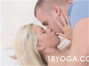 Lola Myluv In Yoga garment Gets boned And Creampied