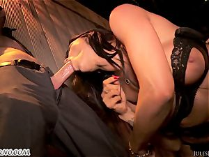 Romi Rain - awesome molten amateur porn in the street