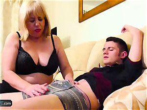 AgedLovE Mature chubby Trisha and Sam hardcore
