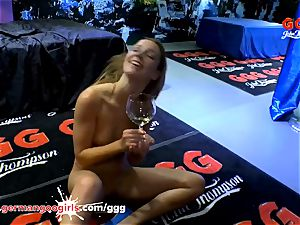 Alexis Crystal is glad for ginormous boners and jizm - GGG