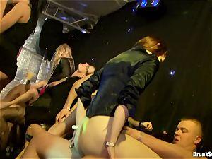 Bibi Fox with hotty friends filled with steamy jizz