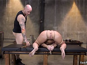 thick bumpers cougar marionette gets pounded in bdsm