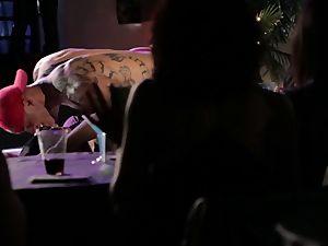 Adriana Chechik has her fleshy vulva boned by a mind-blowing masculine stripper