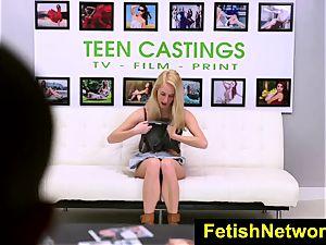 FetishNetwork Cadence Lux gimp casting