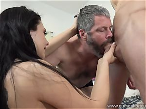 Megan Sages spouse strokes little bone As She Gets poked