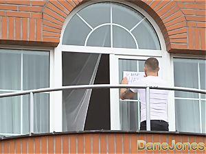 Dane Jones voyeur fucks his gorgeous neighbour