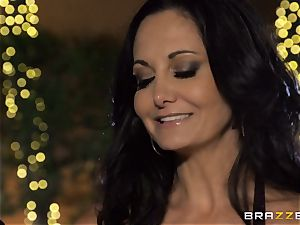 Ava Addams gets a packing from the pool dude